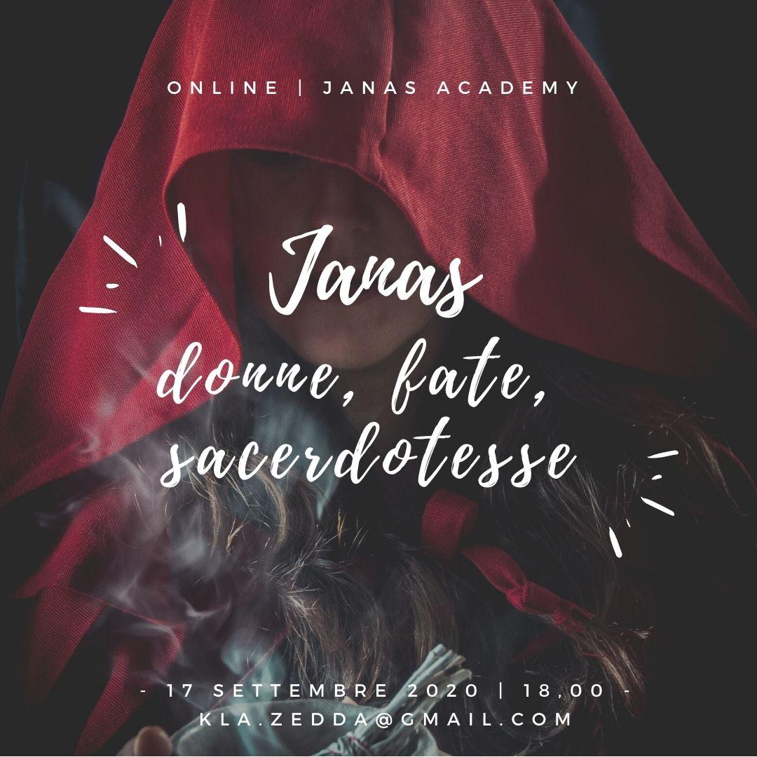 Le Janas: donne, fate, sacerdotesse