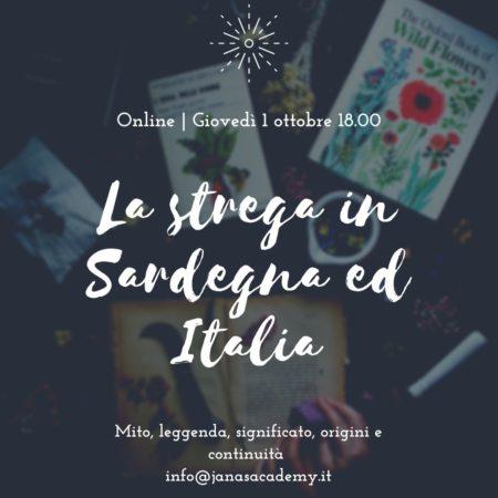 La strega in Sardegna e Italia