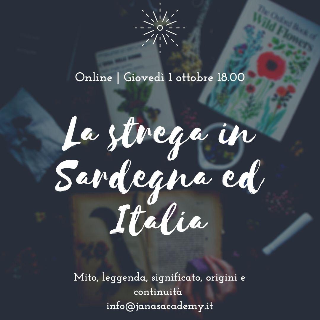La strega in Sardegna ed Eurpa Seminario