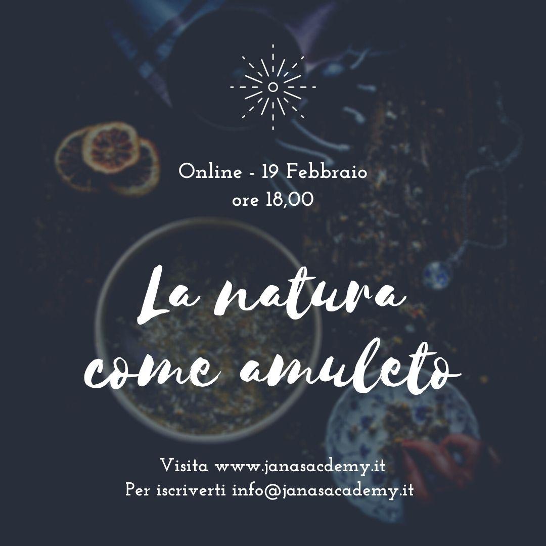 La natura come amuleto