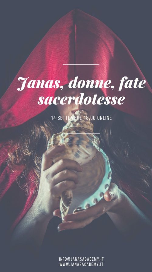Janas, donne, fate, sacerdotesse. Il seminario janas academy