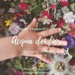 Erbe del solstizio e acqua dei fiori