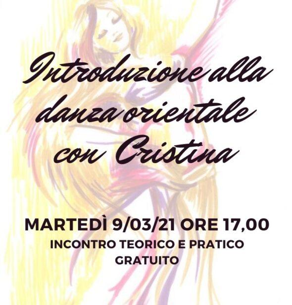 Introduzione alla danza orientale con Cristina Dore