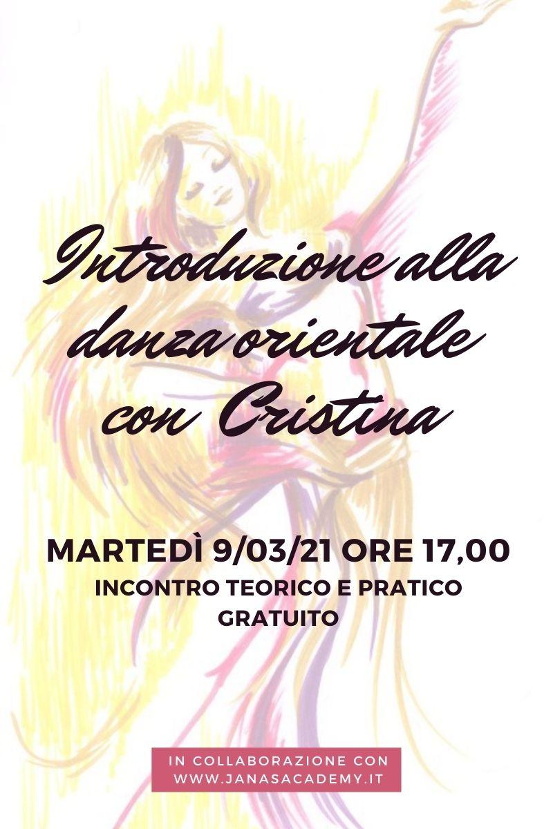 Danza orientale con cristina