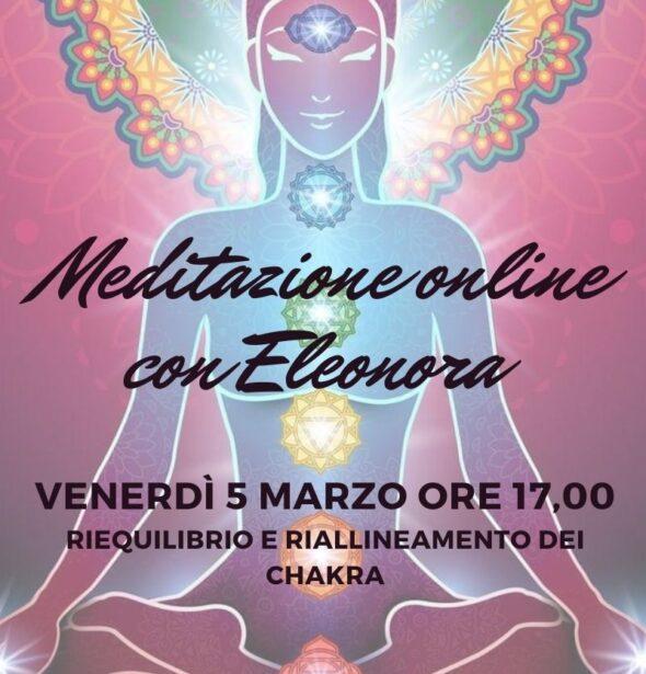 Meditazione online con Eleonora