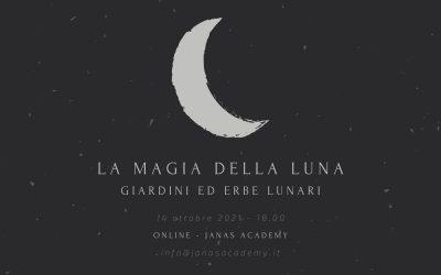 La magia della luna: giardini ed erbe lunari