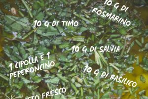 Olio alle erbe delle janas